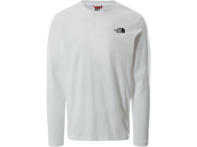 The North Face Easy Camiseta Manga Larga Hombre, blanco